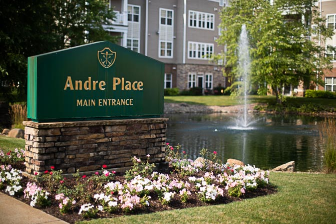 Andre Place Main Entrance
