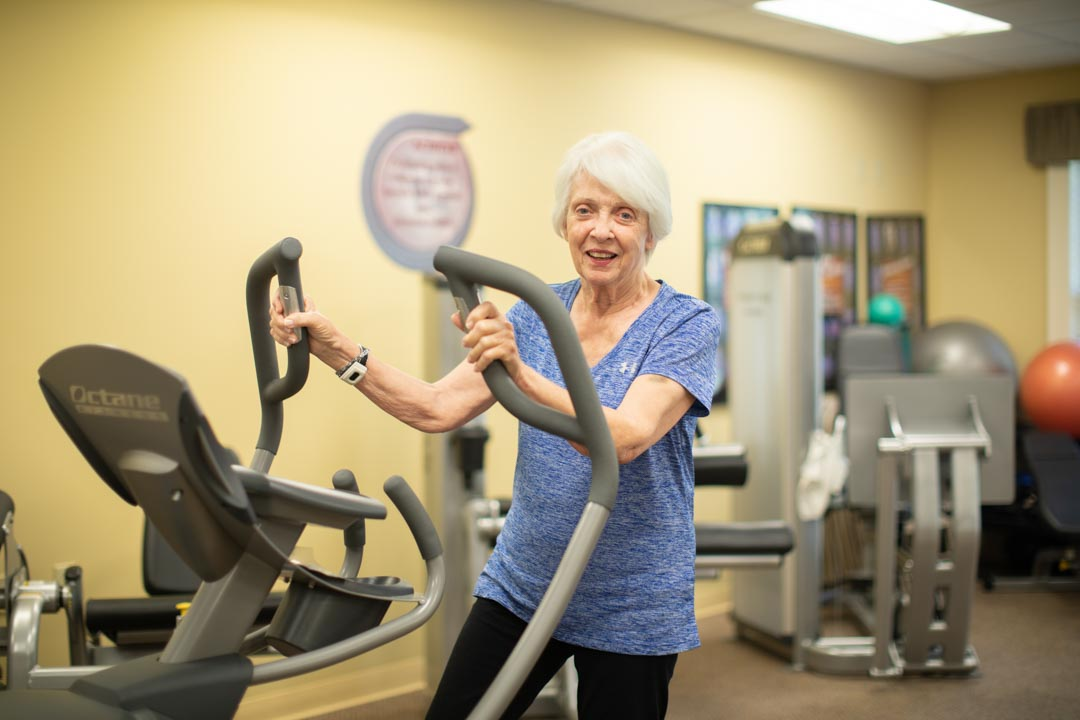 Woman Exercising Staying Active